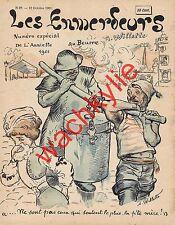 L'assiette au beurre n°28 du 12/10/1901 Les emmerdeurs par Willette