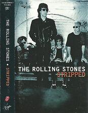 Rolling Stones Stripped CASSETTE ALBUM Virgin TCV 2801 14 tracks
