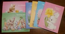 6 Ruth or Bill Morehead Easter Cards w/envelopes by Current