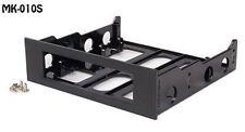 3.5in Hard Drive to 5.25in Front Bay Bracket Adapter (Plastic Bezel) - MK-010S