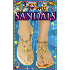 Desert Princess Arabian Egyptian Style Sandals size S (5-6) New by Forum