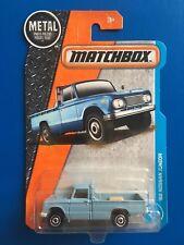 2017 Matchbox JDM Light Blue 1962 NISSAN JUNIOR B140 PICKUP / UTE  mint on card!