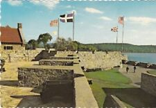 The Curtain Walls-Bastions-Moat-FORT TICONDEROGA, New York