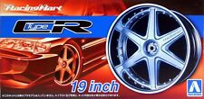 "Aoshima 1/24 Racing Hart Type CR 19"" Wheel Rims & Tire Set For Models 5393 (60)"