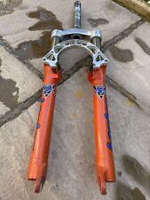 Marzocchi Bomber Z1 Retro 100mm Orange Forks