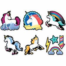 Unicorns 6 inch Designer Cut-Outs (8523) Creative Teaching Press Ctp8523