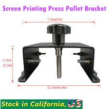 Silk Screen Printing Press Pallet Bracket Screen Printing Tools Diy Equipment