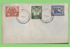 Australia 1947 Peace set on cover with 'Norfolk Island' cancels