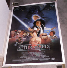 RETURN OF THE JEDI original rolled 1983 one sheet movie poster HARRISON FORD