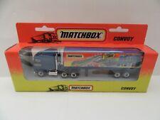 Matchbox Convoy CY-8 Kenworth Box Truck 'Matchbox Action System' - Mint/Boxed