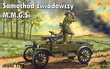 Ford Model T M.M.G.S. WW1 British Scout Car (1/72 model kit, RPM 72102)
