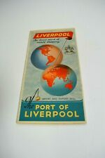 Port of Liverpool Vintage Map - very good (1006)