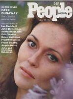 JULY 29 1974 PEOPLE magazine (UNREAD - NO LABEL) - FAYE DUNAWAY