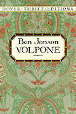 Volpone (Dover Thrift), Jonson, Ben , Acceptable, FAST Delivery
