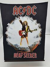 More details for vintage 80s 90s original rock metal back patch ac dc