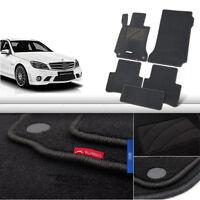 5pcs Premium Auto Fabric Nylon Anti-slip Floor Mats Carpet For BENZ C CLASS