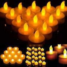 Flameless LED Light Candle Tea Light Flickering Wedding Christmas Battery Light