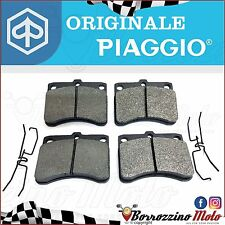 KIT SERIE 4 PASTIGLIE FRENO ORIGINALI PIAGGIO QUARGO 500 2005-2017