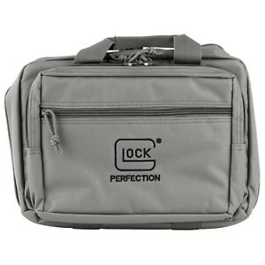 Glock OEM Gray Range Bag Gun Bag (Two Pistol) NEW STYLE