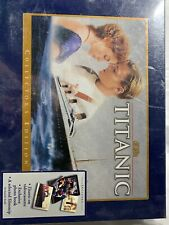 Titanic (VHS, 1999, Collectors Edition Box Set W/Book & Film Strip) SEALED