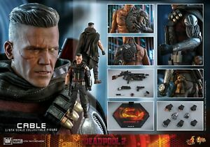 Hot Toys Deadpool 2 1/6th scale Cable Collectible Figure MMS583