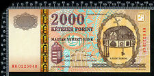 Hongrie / Hungary : 2 000 Florint 2000 Millennium (France : franco de port)