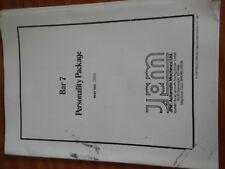 jpm bar 7 fruit machine service manual