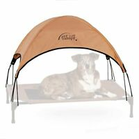 Canopy For Dog Bed Pet Cot Canopy Large For Raised Elevated Outdoor Beds 30 x 42