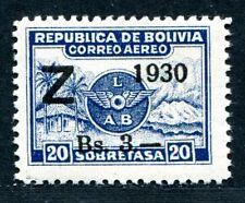 BOLIVIEN 1930 186 * ZEPPELIN 100€+(A8172