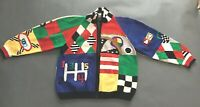 Berek Racing Sweater Vintage Zipper Cardigan 1989 Medium Race Cars Jacket