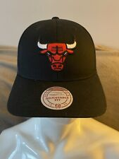 Mitchell & Ness NBA Black Chicago Bulls Basketball Cap