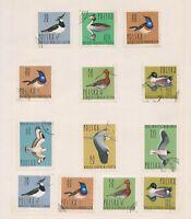 (PLT-36) 1964 Poland mix of 15stamps value to 1.55zt (AK)