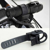 LED Flashlight Torch 360 Degree Bicycle Bike Cycling Mount Holder Clip Clamp   Z