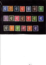 Timbres france 682 à 701- Série complète