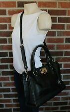 NWOT Cole Haan Black Leather Messenger Bag Tote Doctor Satchel Purse -Dust Cover