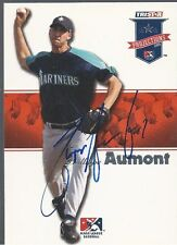 Philadelphia Phillies PHILLIPPE AUMONT Signed Projections Card