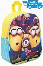 School Bag Backpack Shoulder Original Despicable Me 2 Minions Junior Kids