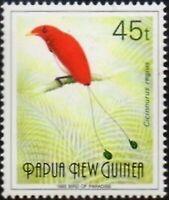 Papua New Guinea 1993 SG643 45t Bird of Paradise 1993 MNH