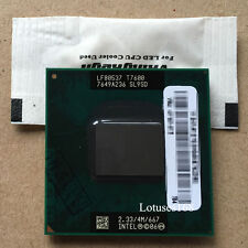 Intel Core 2 Duo T7600 2.33 GHz 2-Core 4M Processore SL9SD Socket M Mobile CPU