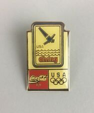 Coca-Cola USA Olympic Diving Pin