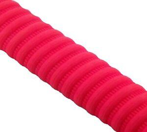 Opttiuuq XKSC Spiral Coil Cricket Bat Grip rubber. Pink