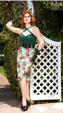 Pinup Girl Clothing Deadly Dames Rockabilly Floral Skirt