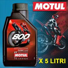 OLIO MOTORE MOTO MOTUL 800 2T OFF ROAD FACTORY LINE 100% SINTETICO 5 LITRI