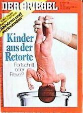 SPIEGEL 31/1978 Kinder aus der Retorte