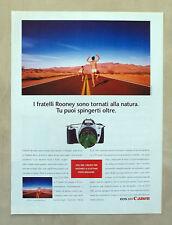B212-Advertising Pubblicità-1999 - EOS 300 CANON