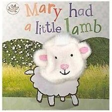 Mary Had a Little Lamb Finger Puppet Boo