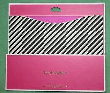 Juicy Couture I Pad Sleeve NEW Black white Stripe Retail 48 iPad NIP