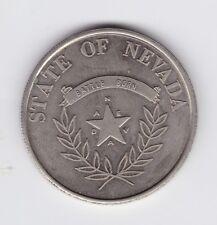 1864 James Warren NYE State of Nevada Medal Battle Born H-727