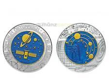 25 Euro Kosmologie Niob Silber Niobium Silver Österreich Austria 2015