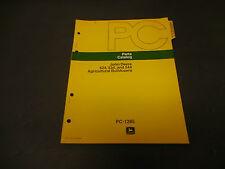 1974 John Deere Parts Catalog No.Pc-1285 524-44 Agricultural Bulldozer, 9 Pages